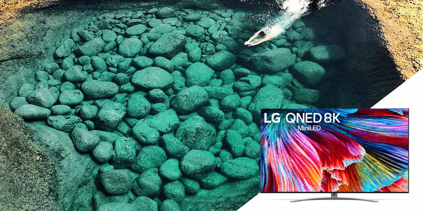 LG QNED MINI LED TV, nový standard kvality obrazu