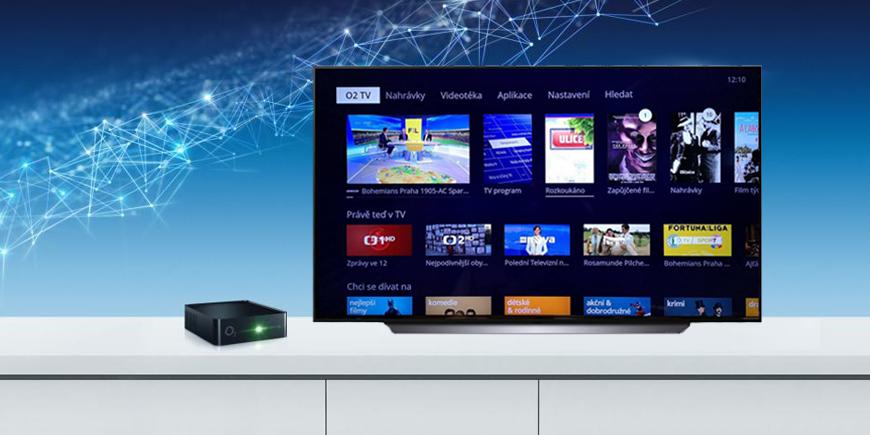 Aplikace O2 TV nově v televizorech LG