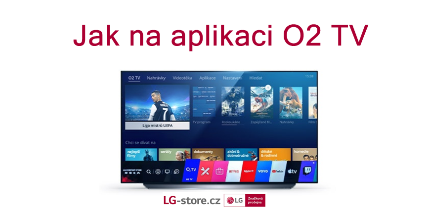 Jak nastavit aplikaci O2 TV na televizi LG